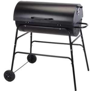Barbecue Salvador op wielen - cilinder vorm - Leen Bakker