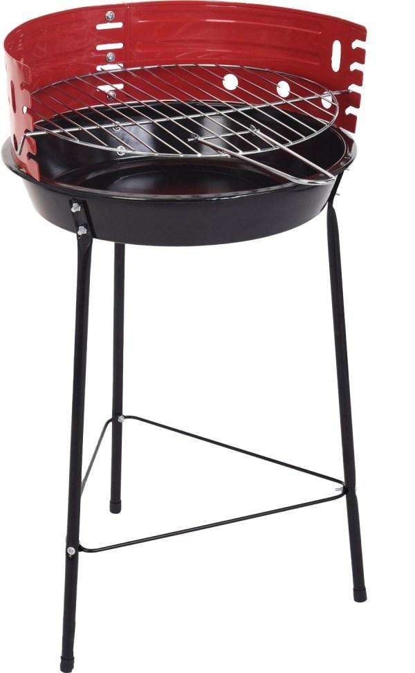 BBQ barbecue half open 33cm