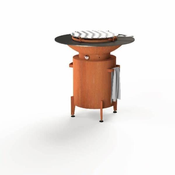 Forno: BFC2 Houtskoolbarbecue - Koper