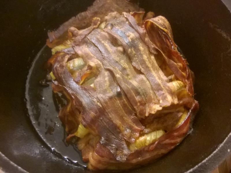 Rezept: Schichtfleisch aus dem Dutch Oven