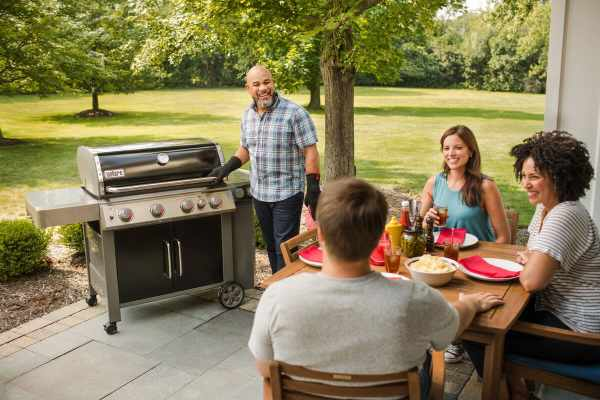 Weber Genesis II E-435 Natural Gas/Propane Grill