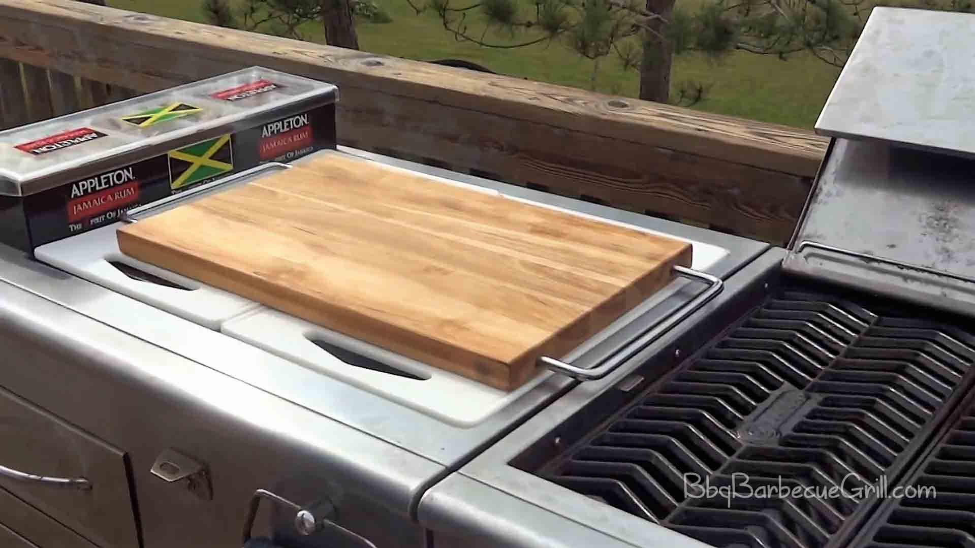 best outdoor grill prep station