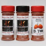 BBQ Product Update: Above The Coals BBQ and Grill Seasonings