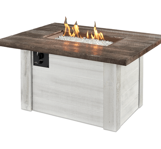 The Outdoor Greatroom Company - Alcott Rectangular Gas Fire Pit Table