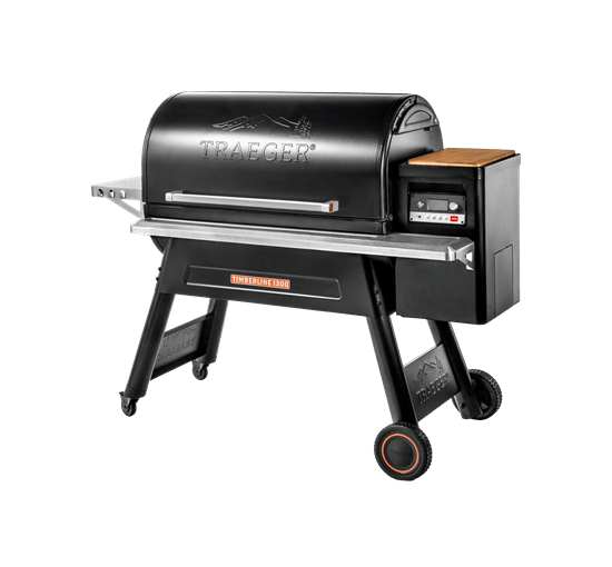TIMBERLINE 1300 PELLET GRILL - Front View