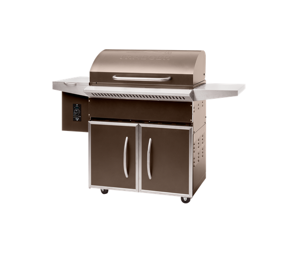 SELECT PRO PELLET GRILL - BRONZE - Front View