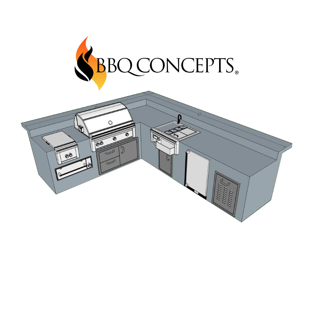 building a custom outdoor kitchen with bbq concepts of las vegas