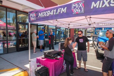 Shawn Tempesta and the Mix 94.1 Team