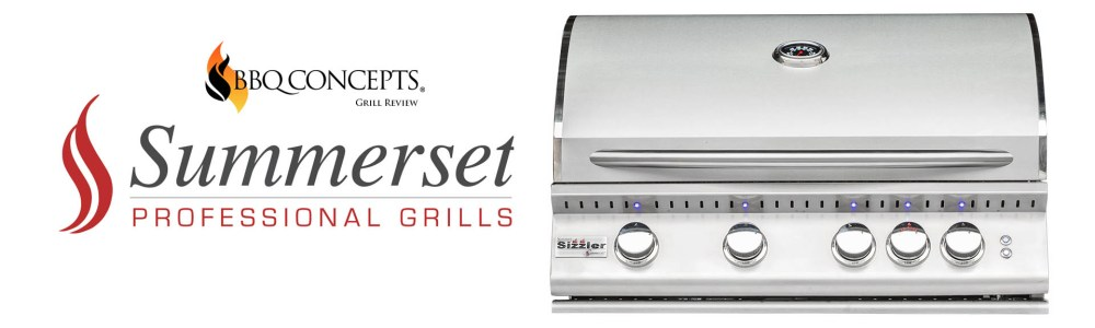 """Summerset Sizzler Pro 32"""" Grill Review by Omid Mahban of BBQ Concepts of Las Vegas, Nevada"""