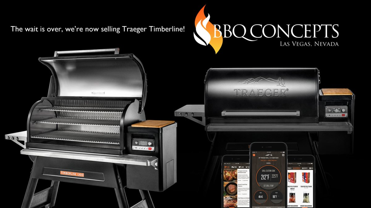 Traeger Timberline Wood Pellet Grill Promotional Advertisement - BBQ Concepts Las Vegas, Nevada