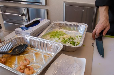 BBQ Concepts - Chef Phillip Dell Presents Creole Shrimp That Was Consumed Before We Were Able to Take Photos
