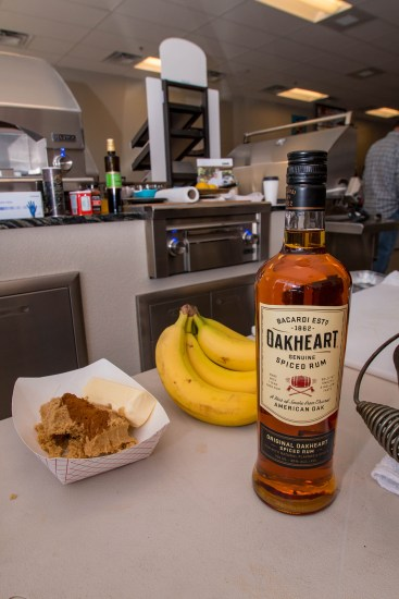 Grilled Bananas Foster Ingredients and Preparations