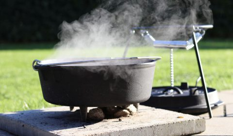 Petromax Dutch Oven Setup