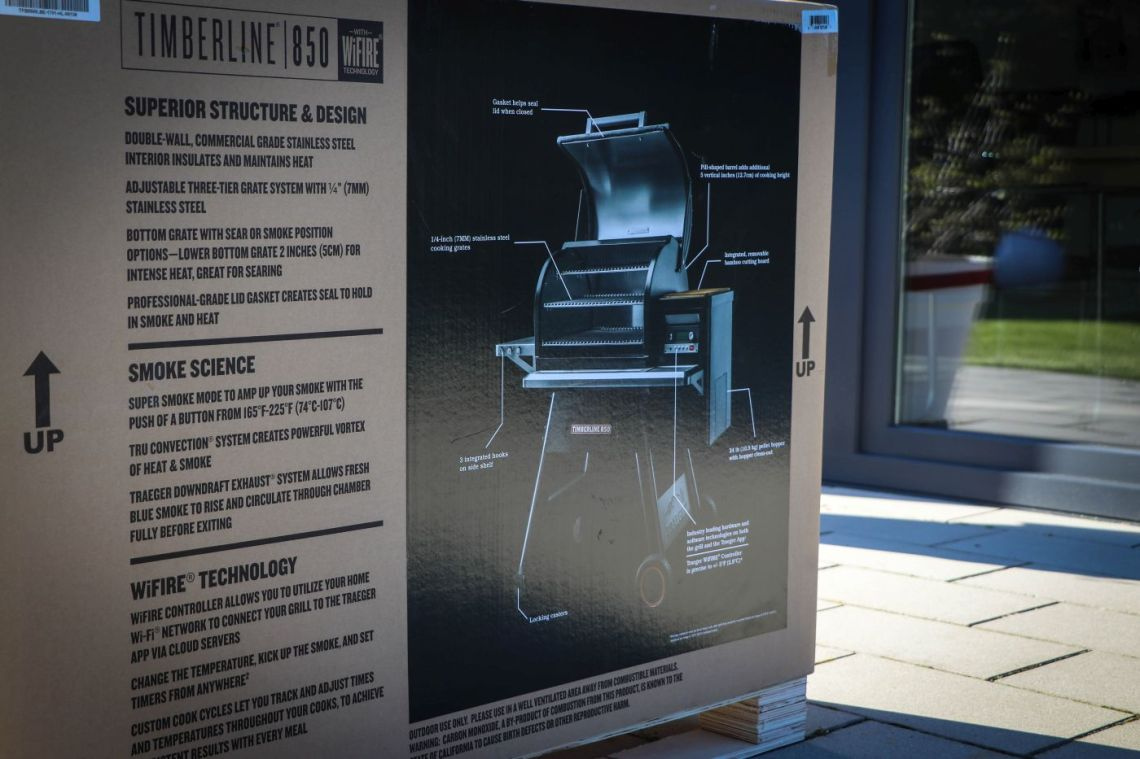 Traeger Timberline Unboxing