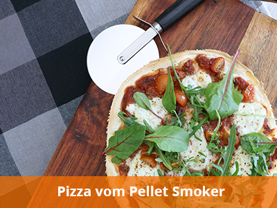 Pizza-vom-Pellet-Smoker