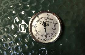 das alte Tel-Tru Thermometer