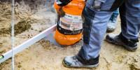 Ruck Zuck Beton für die Fundamente