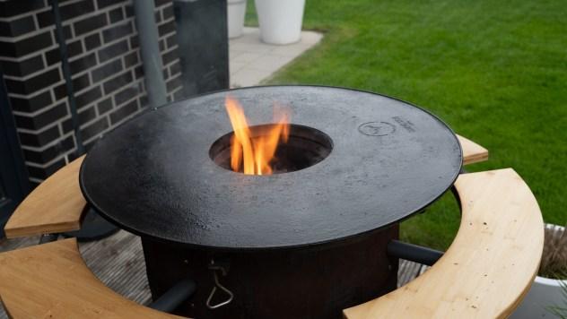 Perfect Match! BBQ Disk x Bandit Fireplace
