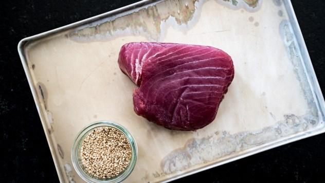 Der Thunfisch sollte eine sehr gute Qualität haben