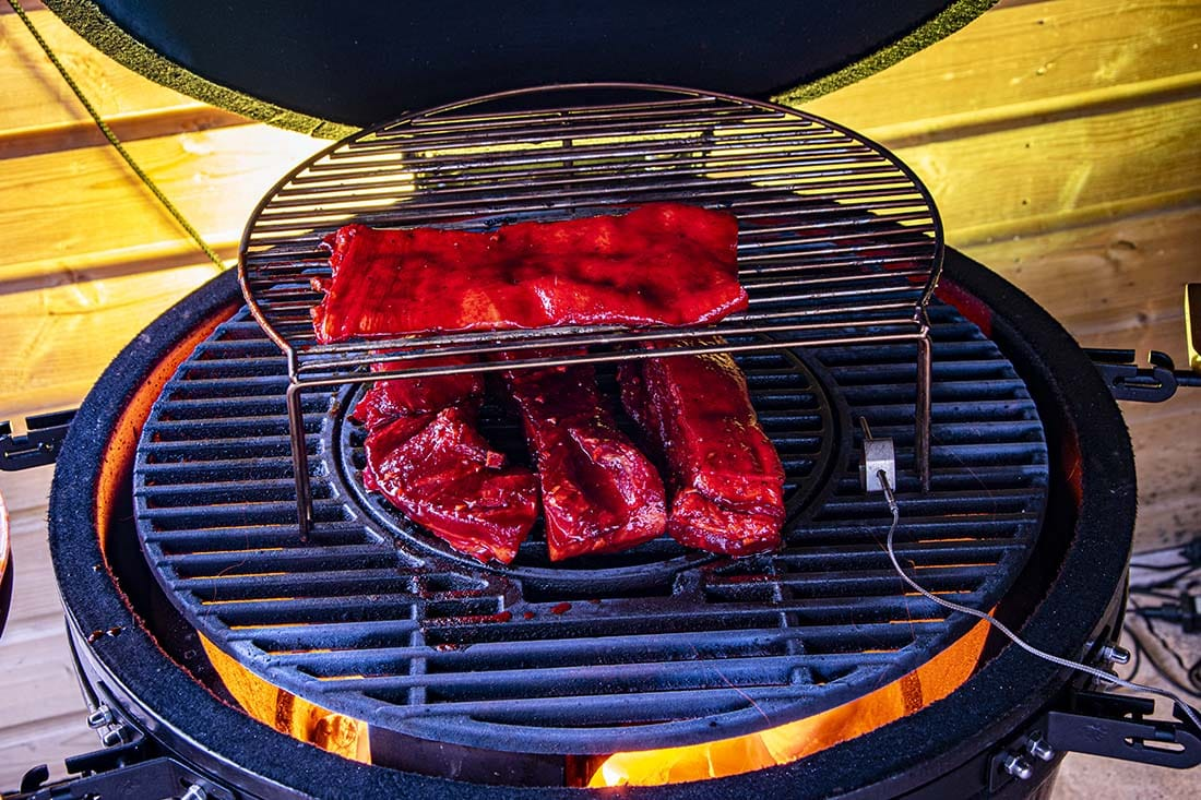 car siu bbq recept buikspek grill bill kamado