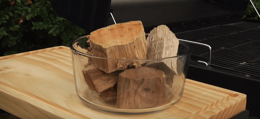 soak wood chips for electric smoker