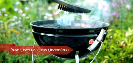 best charcoal grills under 200