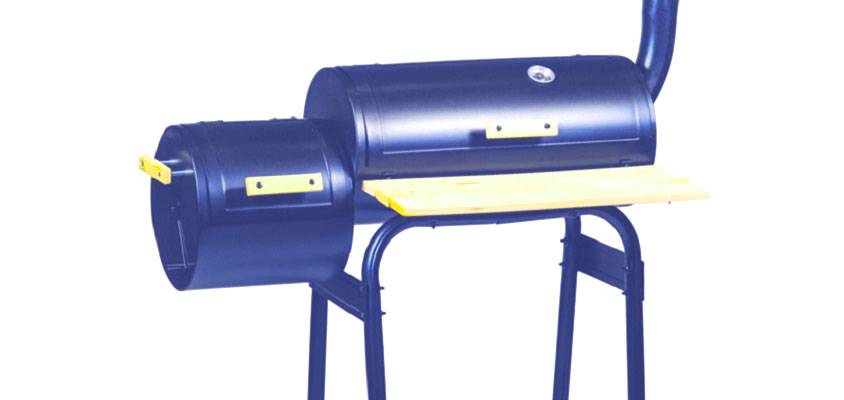 gas grill smoker