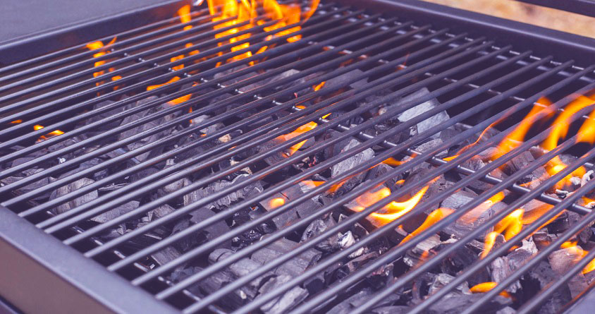 charcoal grill for steak