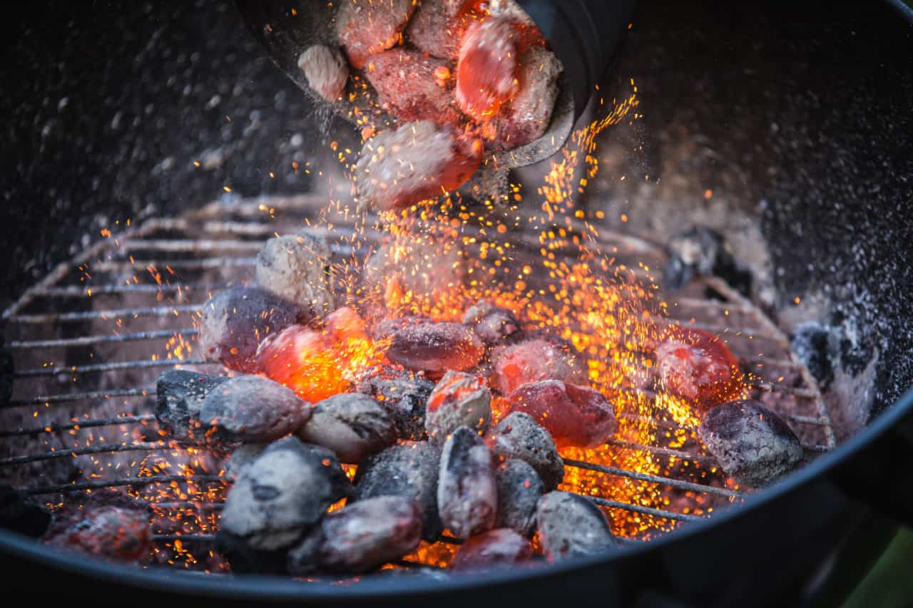 how to light a charcoal grill bbq reboot