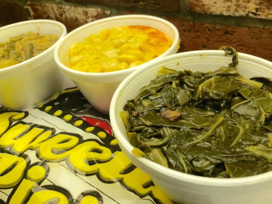 #tyssweetiepies #sweetiepies #greens #macandcheese #greenbeans