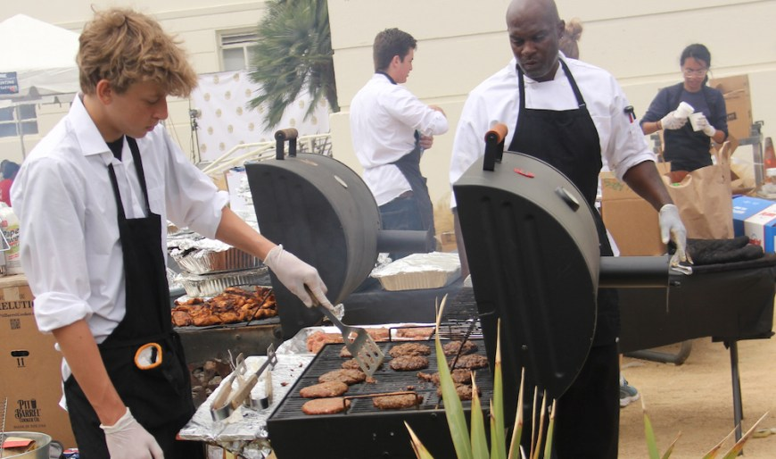 #BBQ #CiaoBellaStaffing #SantaMonica