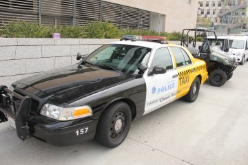#SantaMonicaPolice #Department #Policetaxi