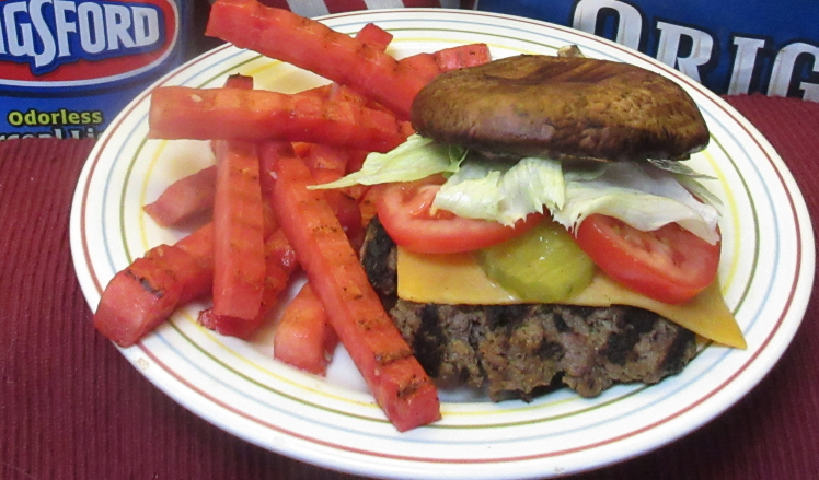 #ShroomBurger #GrilledWatermelonFries #BBQRescues