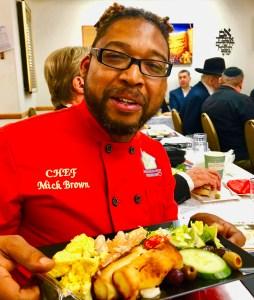 #ChefMickBrown #CongregationBaisNaftoli #26thAnnualBreakfast #Los Angeles #BBQRESCUES