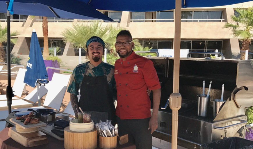 #ChefMickBrown #BBQ #HardrockPalmSprings