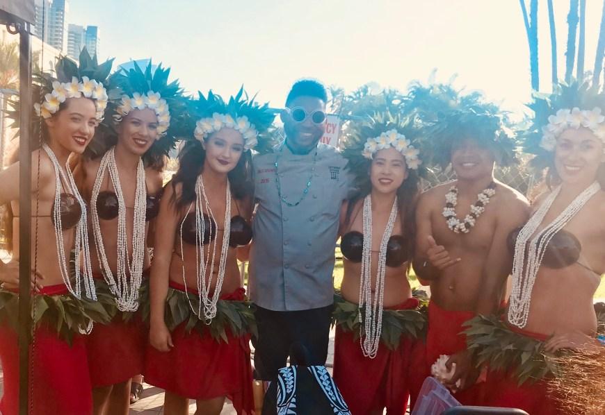 #ChefMickBrown #HawaiianDancers #2017 #IslandBeerandFoodFest #San Diego