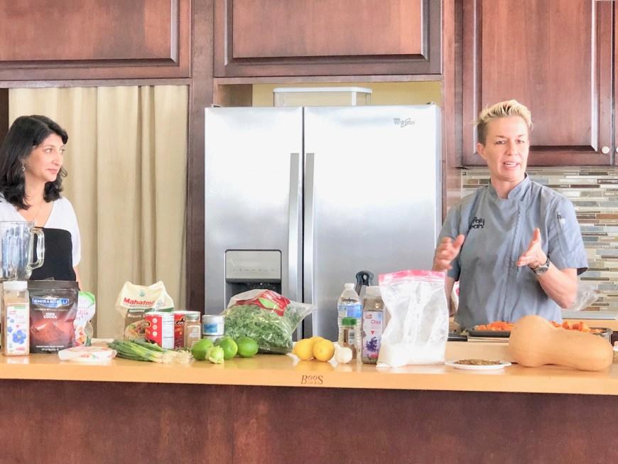 Dr. Ruchi Gupta MD,Chef Elizabeth Falkner,Food Allergies,2018 World Food Championships,Orange Beach, AL.