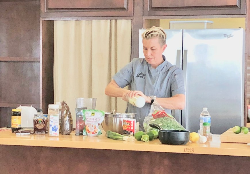 Chef Elizabeth Falkner,Allergy Friendly Food,2018 World Food Championships