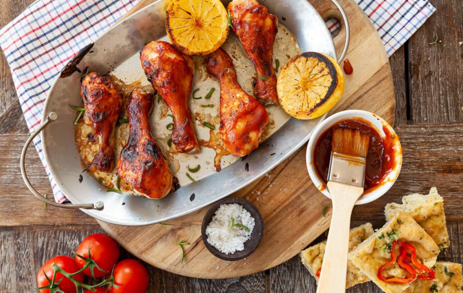 Marinated Chicken Drumsticks