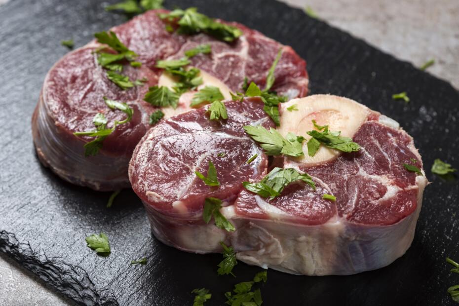 Raw Fresh Beef Shank