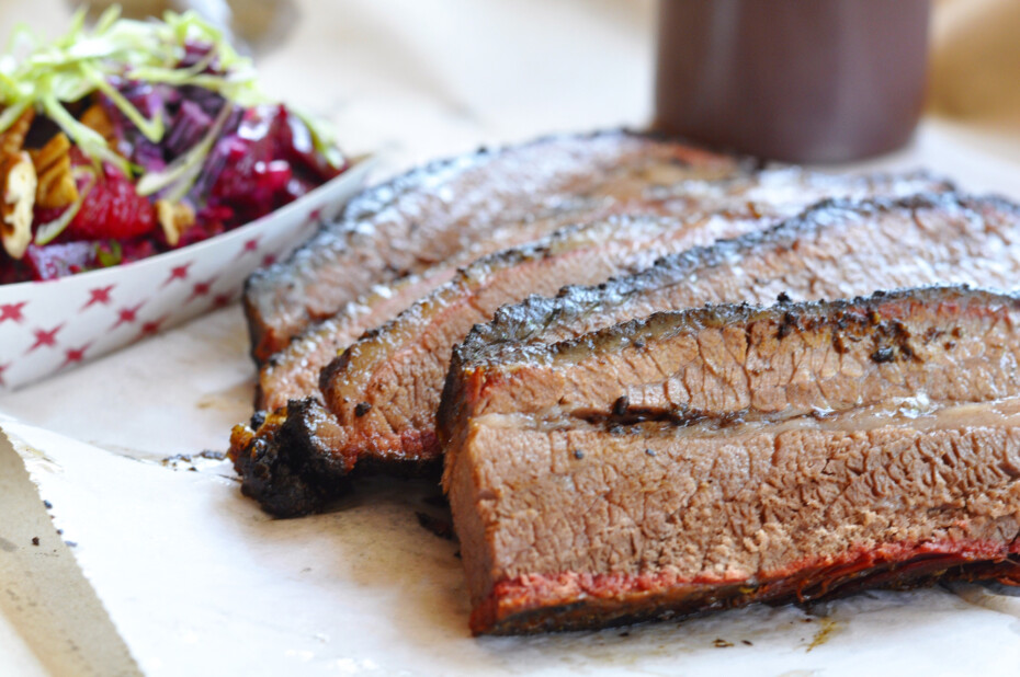 Smoked Brisket With Sides