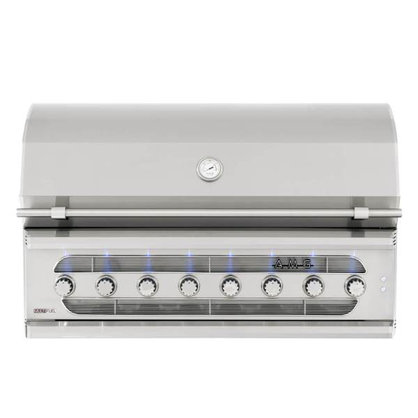 American Muscle Grills 54 Inch Multi-Fuel Built-in Barbecue Grill