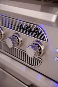 American Muscle Grills - Barbecue Grill Brand Plate