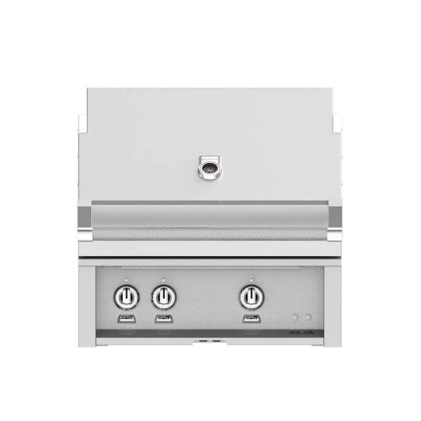 Hestan Outdoor 30 Inch Built-in Barbecue Grill - Steeletto