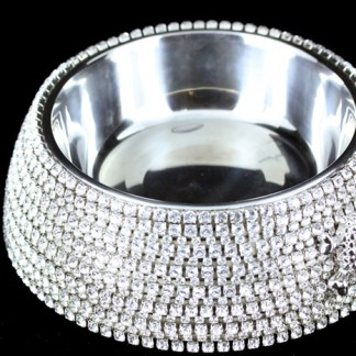 BB Simon DWB 102 Swarovski Crystal Dog Cat Pet Bowl
