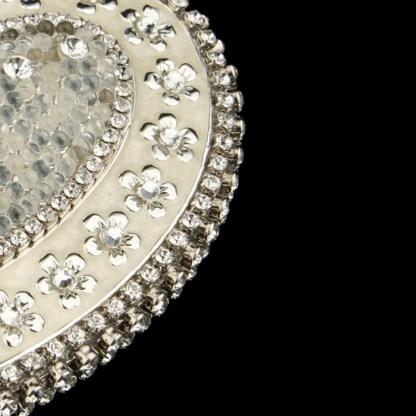 bb Simon Swarovski crystal jewelry box J-704
