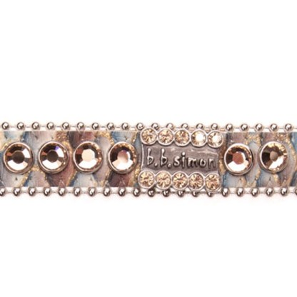 B.B.SIMON DOG Cody Swarovski Dog Cat Pet Collar