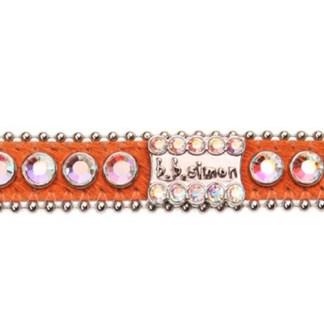 B.B.SIMON DOG Daisy Swarovski Crystal Pet Collar