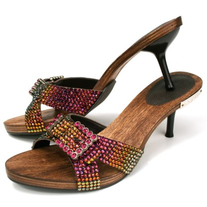 B.B.SIMON SHOES 3881-VOLCANO Womens Heels
