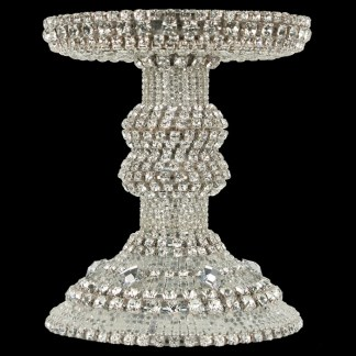 CDH-204 bb Simon Swarovskii crystal Candle holder